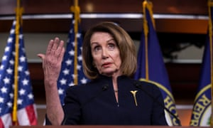 Nancy Pelosi said the House would 'move swiftly' to pass the resolution.