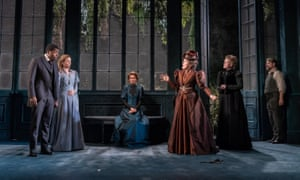 'Good actors obliged to do a lot of shouty acting': The Importance of Being Earnest, with Sophie Thompson (third from right) as Lady Bracknell