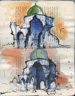 Sketch of Mosul, Iraq by Ghaith Abdul-Ahad