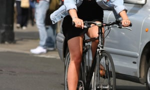 Cyclists who prefer to cycle at a more sedate pace are the most frequent victims of antisocial driving behaviour.