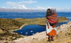 Isla del Sol on the Titicaca