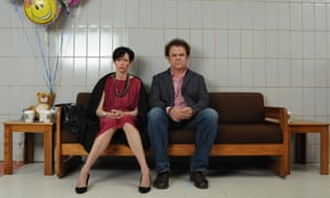 Tilda Swinton and John C Reilly in We Need to Talk About Kevin, one of the few films to tackle school shootings.