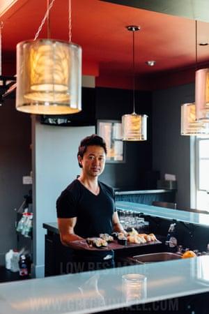 Tak, owner at Basho sushi restaurant in St John's, Newfoundland, Canada