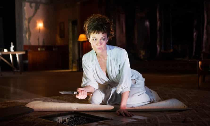 Helen McCrory è stata una grande interprete a Medea al National Theatre nel 2014.