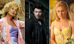 Jessica Lange in American Horror Story, Francois Arnaud in Midnight, Texas and Anna Paquin in True Blood.