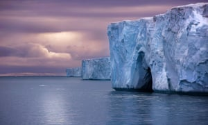 One of Europe's largest pieces of ice, the Austfonna Ice Cap stretches for miles along Nordaustlandet in the Svalbard Archipelago. With the ice retreat accelerating, pieces of ice such as this may not be around for much longer.