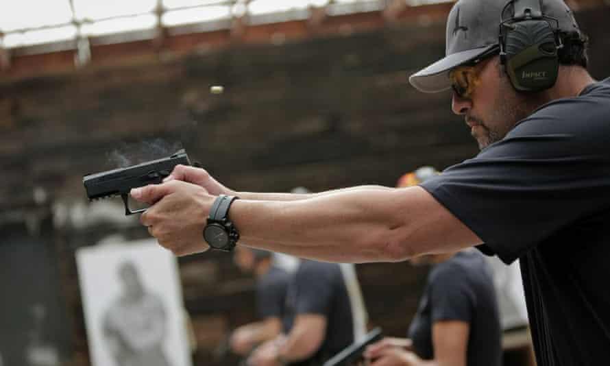 Genghis Cohen is the owner of Machine Gun Vegas, a shooting range: 'We don't sensationalize guns. Society sensationalizes guns.'