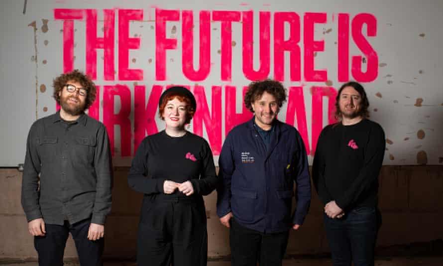 The team at Future Yard in Birkenhead.