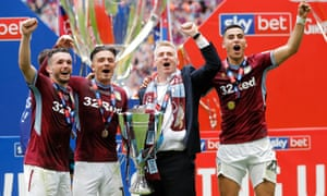Aston Villa's last trip to Wembley, for last season's Championship play-off final, turned out Ok for Dean Smith.