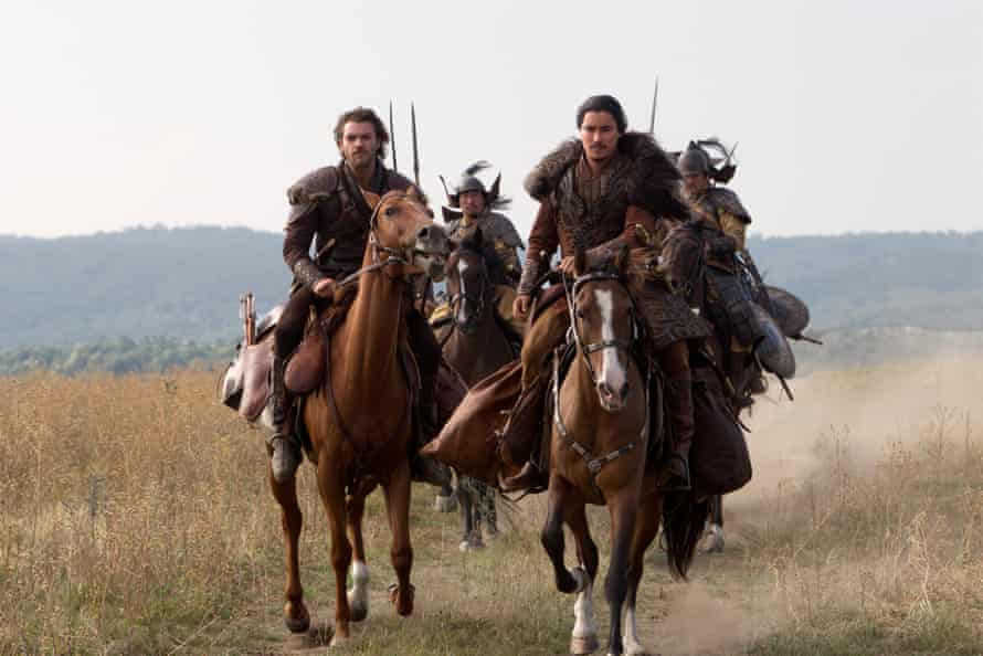 Remy Hii [right] and Lorenzo Richelmy in Marco Polo