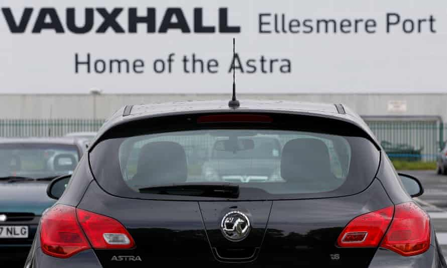 New Astras ready to leave Vauhxhall's Ellesmere Port factory