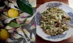 Vignarola (Roman spring vegetable stew)