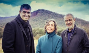 Rafael Aranda, Carme Pigem and Ramon Vilalta, named the 2017 Pritzker architecture prize laureates.