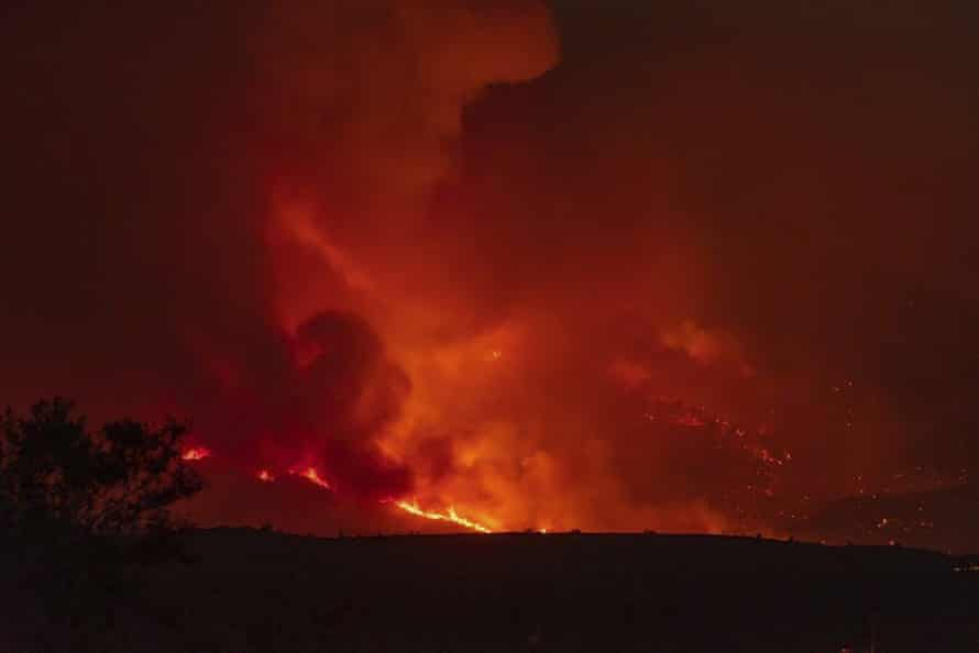 The Telegraph wildfire forced thousands of evacuations around Globe, Arizona.