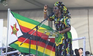Grace Mugabe, Zimbabwe's first lady