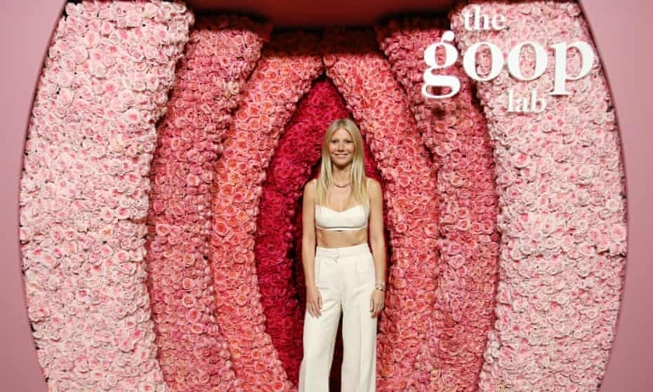 Gwyneth Paltrow attends the Goop Lab special screening in Los Angeles on 21 January.