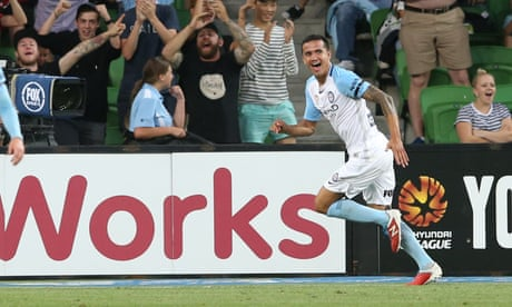 Tim Cahill at the double as Melbourne City claim victory over Mariners