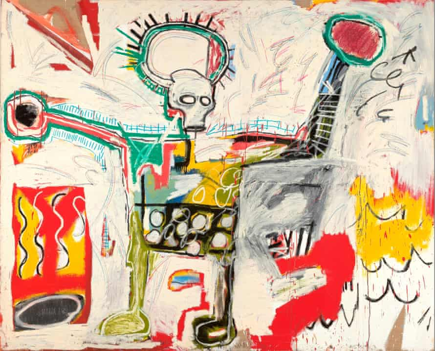 'Terrific graphic register': Jean-Michel Basquiat's Untitled (1982)