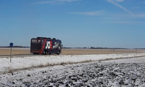Joe Biden rolls through rural Iowa to shore up presidential support for his campaign.