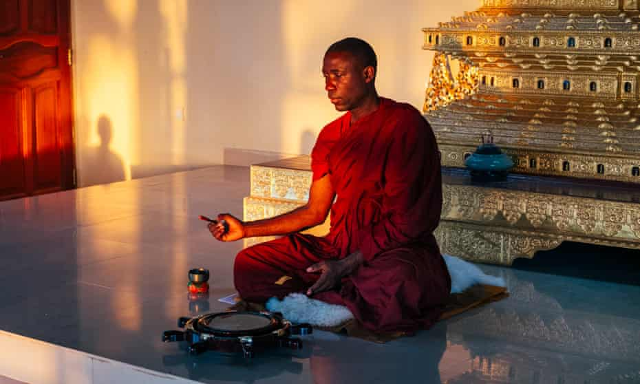 Bhante Buddharakkhita is aiming to train 54 Ugandans as novices in the Theravada Buddhist tradition.