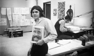 Jann Wenner in Rolling Stone's San Francisco offices in August 1970