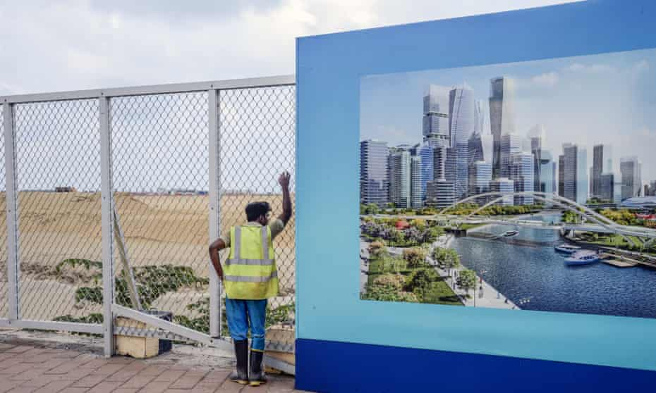 The construction of Port Cityis being funded via the largest single foreign direct investment in Sri Lankan history.