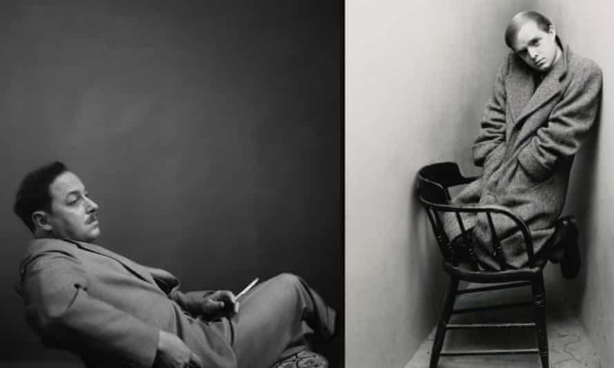 Parallel lives … Tennessee Williams, left, and Truman Capote.