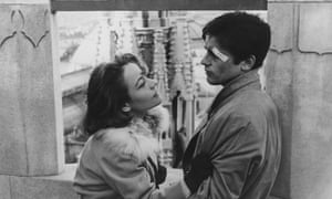 Annie Girardot and Alain Delon in Luchino Visconti's Rocco and His Brothers.