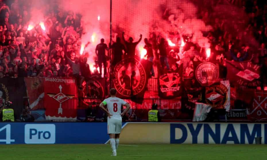 Maribor v Spartak Moscow