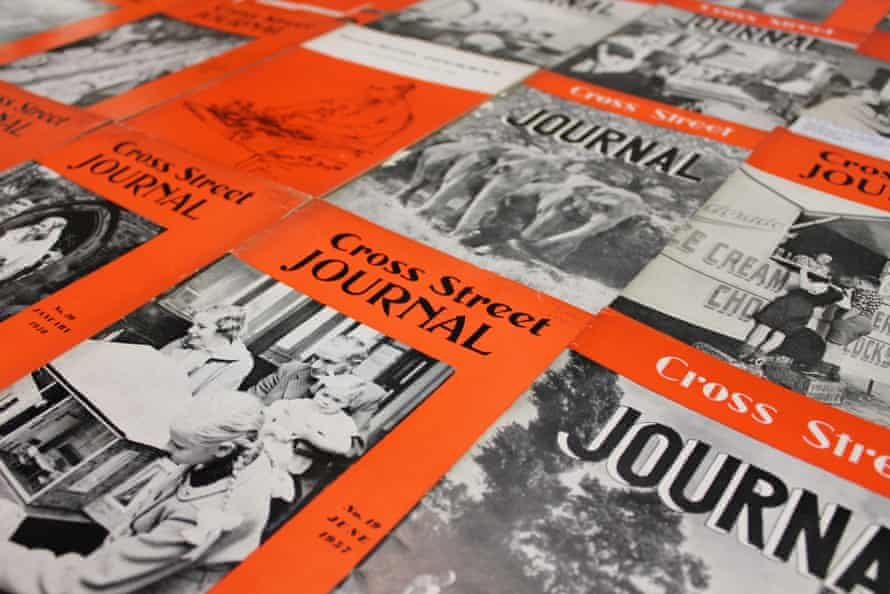 Selection of Cross Street Journals from the GNM Archive, 1950s-1960s. The Cross Street Journal, the internal staff magazine of the Manchester Guardian and Evening News, was launched in 1949. Employees contributed their own news stories and an issue was produced every few months. The staff journal, which ran until 1962, was affectionately named after the Manchester street on which the newspapers' shared offices were located. GNM Archive ref: GMG/5/1/3