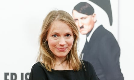 Anna Brüggemann attends the premiere of Er Ist Wieder Da in Berlin