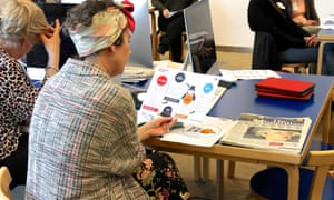 NewsWise share resources with teachers, librarians and educationalists at the Guardian Education Centre Reading for pleasure conference 28 March 2019