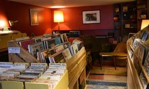 Jam record shop interior