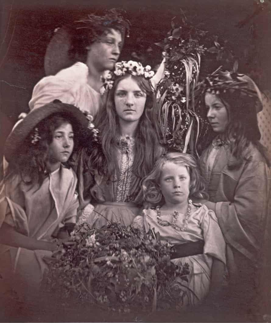 May Day by Julia Margaret Cameron (1866)