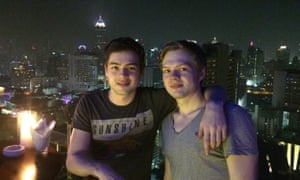 Alex and Tim in Bangkok in 2011