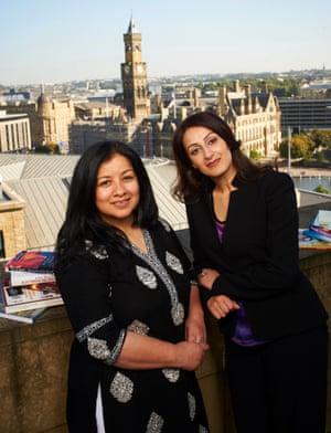 Irna Qureshi and Syima Aslam