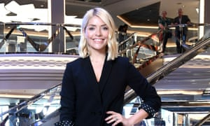 Never say diet: Holly Willoughby