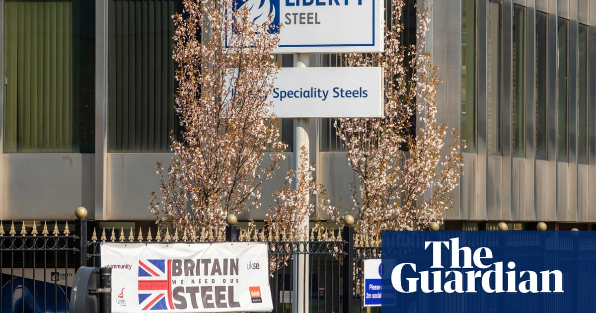 Business secretary criticises 'financial engineering' at Liberty Steel