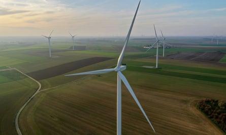 An onshore wind farm