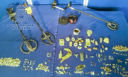 Spanish police recover ancient treasure from alleged looter | Spain | The  Guardian