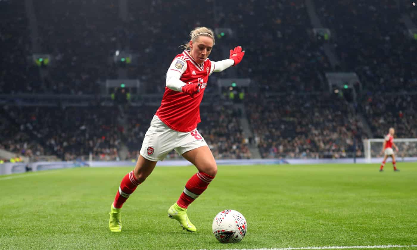 Arsenal's Jordan Nobbs gunning for cup final glory at end of long road back