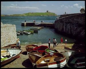 E Ludwig, the author of this shot of Coliemore Harbour, in Dalkey, as well as the previous Irish Thatched Cottage, Bunratty, County Clare image, was one of several photographers in the studio. It was set up in 1956 by its namesake, a failed circus entrepreneur and the great-grandson of the founder of Clarks shoes.