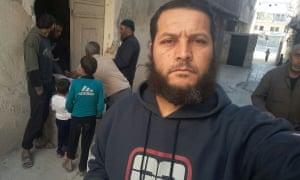 Abo Mehio in eastern Aleppo.