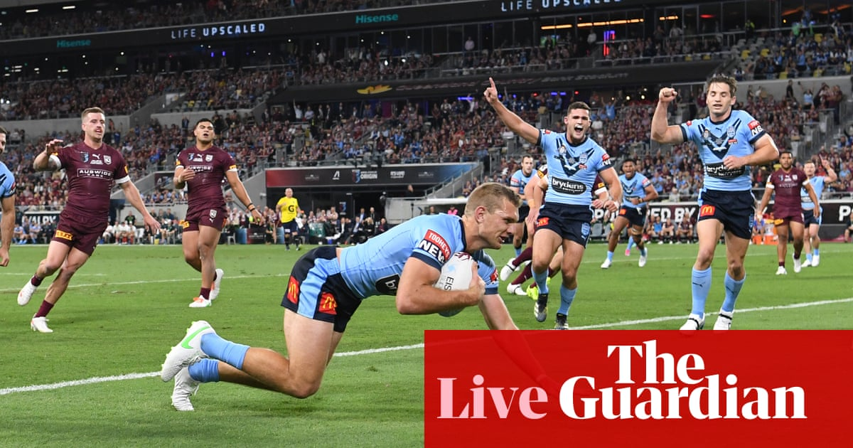 State of Origin 2021 Game 1: Qld Maroons v NSW Blues – live! – The Guardian