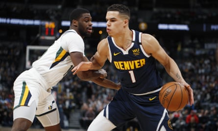 Michael Porter Jr, right, claims never to have had a vaccination