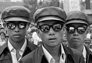 Three Young Toughs, Simao, Yunnan province, 1980