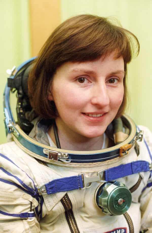 British cosmonaut Helen Sharman.