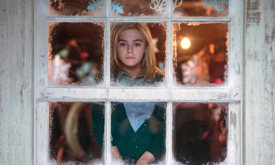 Kiernan Shipka as the imprisoned Cathy in a 2014 film adaptation of Flowers in the Attic.