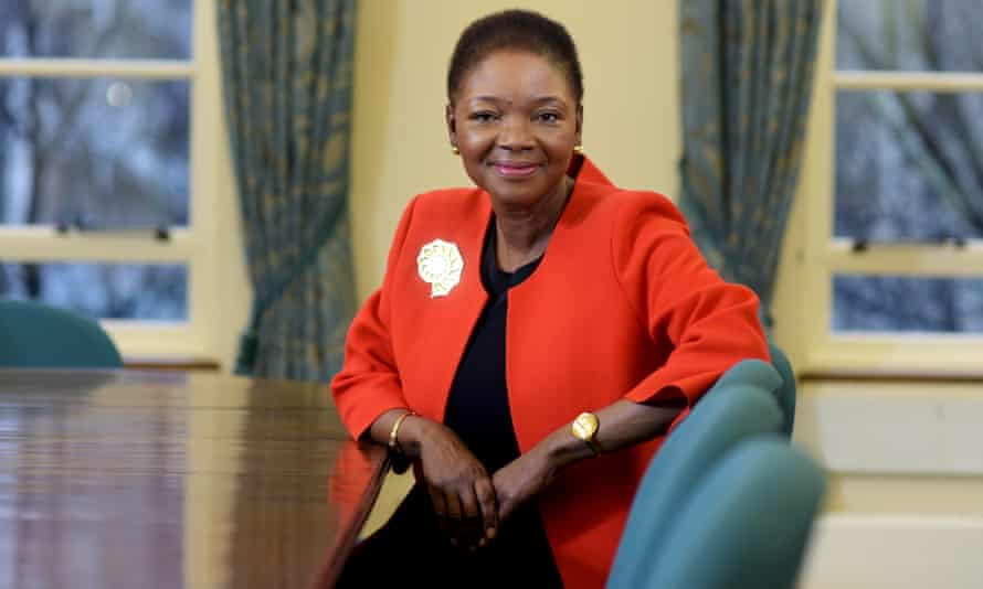 Baroness Amos, one of the few black politicians to have reached high office in the government.