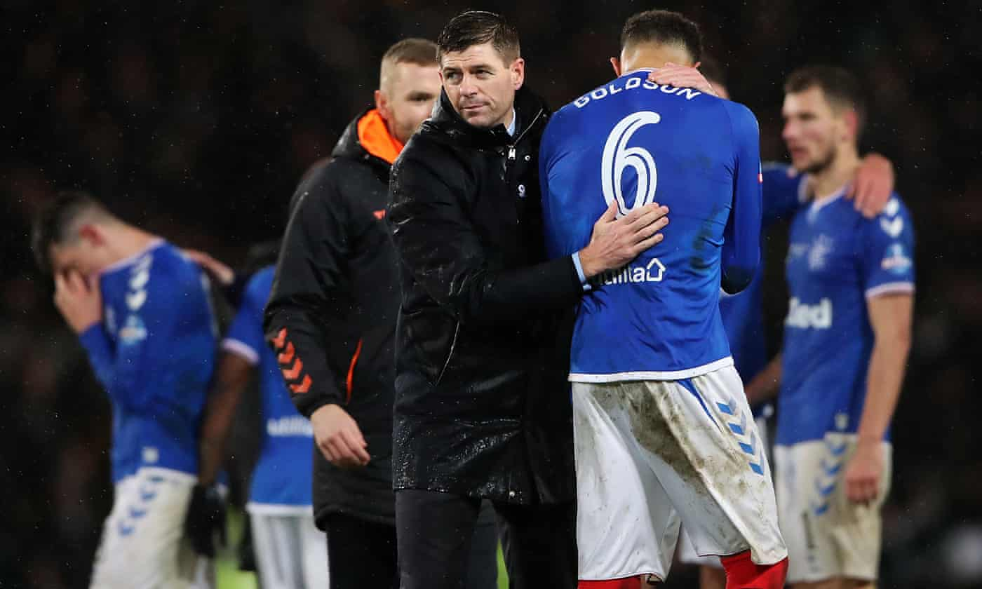 Steven Gerrard says officials need help after cup final controversy